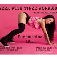 Twerk With Tinze Workshop