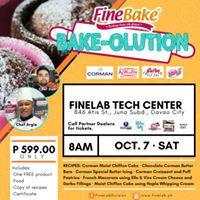FineBake Bake-olution Twosome in Davao City