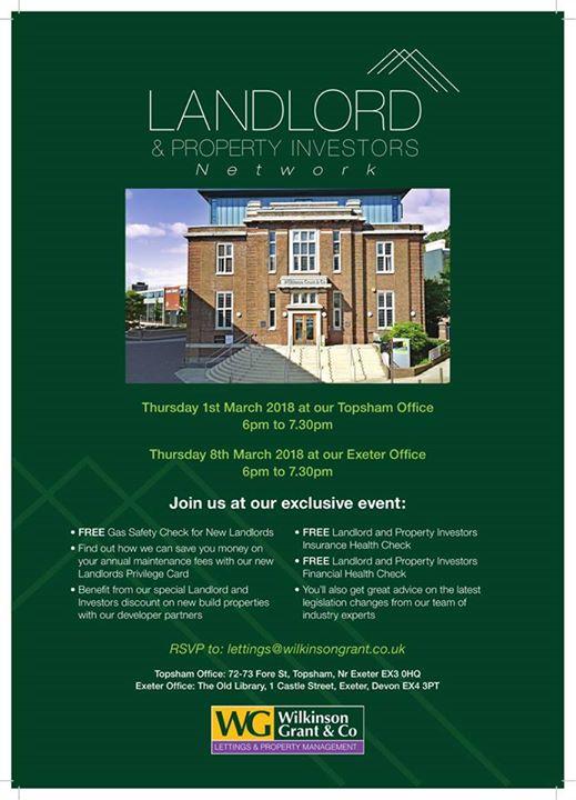 Landlord & Property Investors Network Evening