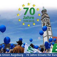 Europatag Augsburg - Erffnung der Europawoche 2018