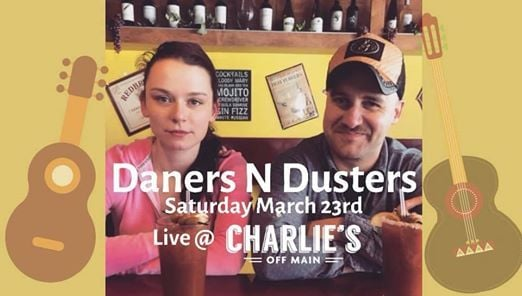 LIVE MUSIC Acoustic duo Daners N Dusters March 23rd