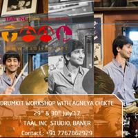 Taal Inc - Drum Kit Workshop With Agneya Chikte