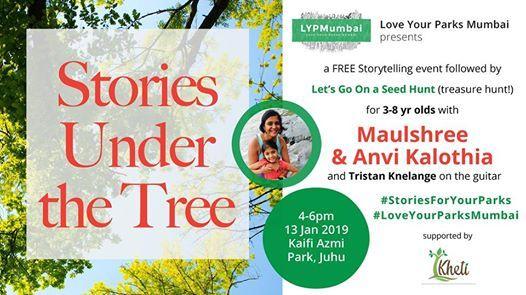 Stories Under The Tree with Maulshree and Anvi Kalothia