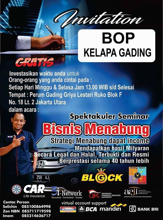 Bop 3i Networks At Gading Griya Lestari Jakarta
