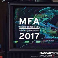 MFA FilmVideo Thesis Screenings