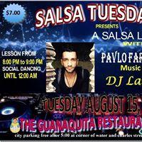 Guanaquita Salsa Tuesdays