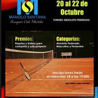 Torneo Tenis Absoluto Federado