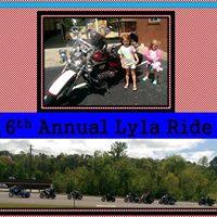 6th Annual Lylas Ride - Benefit Ronald McDonald House