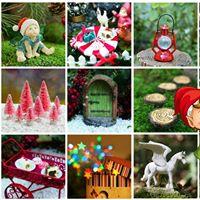 Christmas Fairy Garden Shopping Night