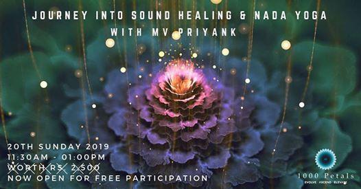 Journey into Sound Healing & Nada Yoga