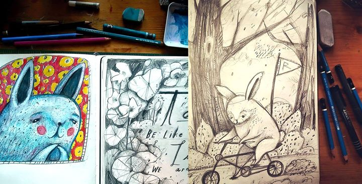 A Drawing A Day with Jeff Brunner