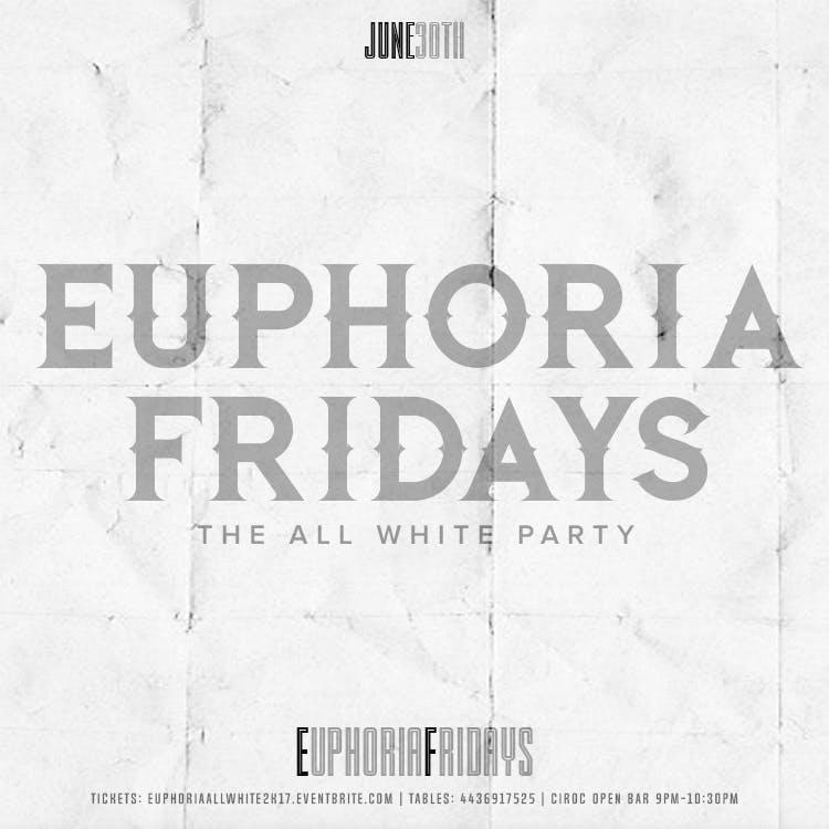 NEXXT LEVEL ALL WHITE AFFAIR EUPHORIAFRIDAYS 6-29-18