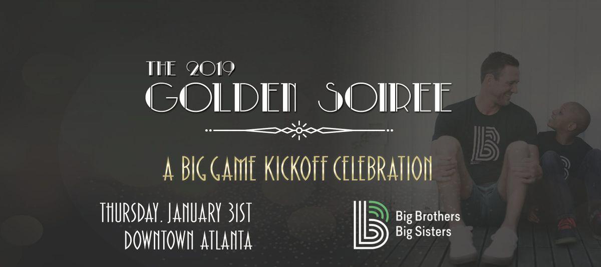 2019 Golden Soiree Big Brothers Big Sisters Big Game Kickoff Celebration