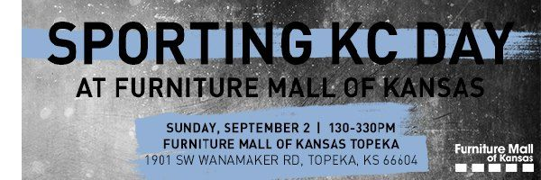 Sporting Kc Day At Furniture Mall Of Kansas Kansas