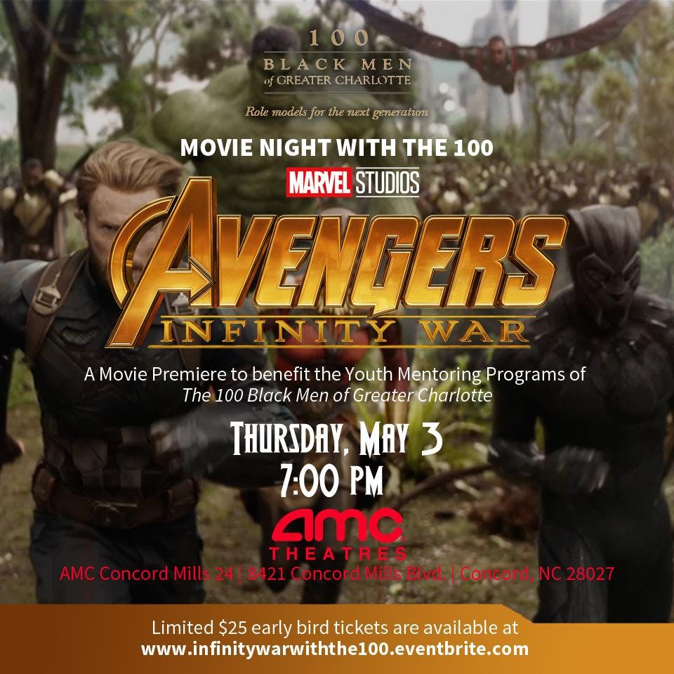 Movie Night With The 100 Avengers Infinity War Movie Premiere At