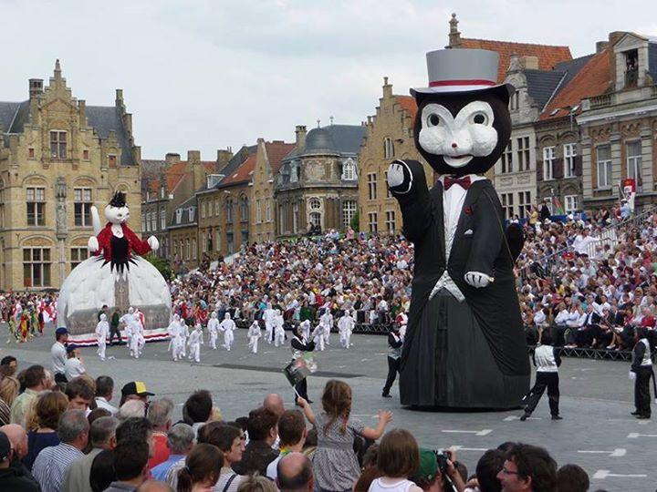 5 Humane Cat Parade At Ypres Belgium Ypres