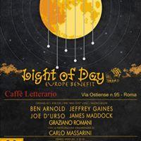 LIGHT OF DAY ROMA 2017