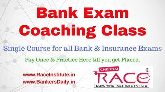 Banking New Batch starts from 14-09-2018 in Trichy