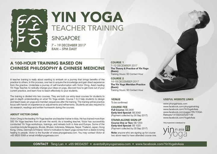 Yin Yoga Teacher Training (Basic)
