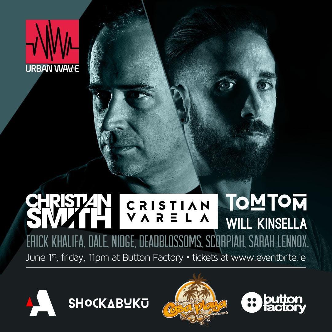 Christian Smith &amp Cristian Varela at Button Factory.
