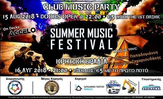 Summer Music Festival vol.4  August 2018  Farmakas