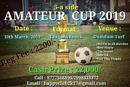Amateur CUP 2019