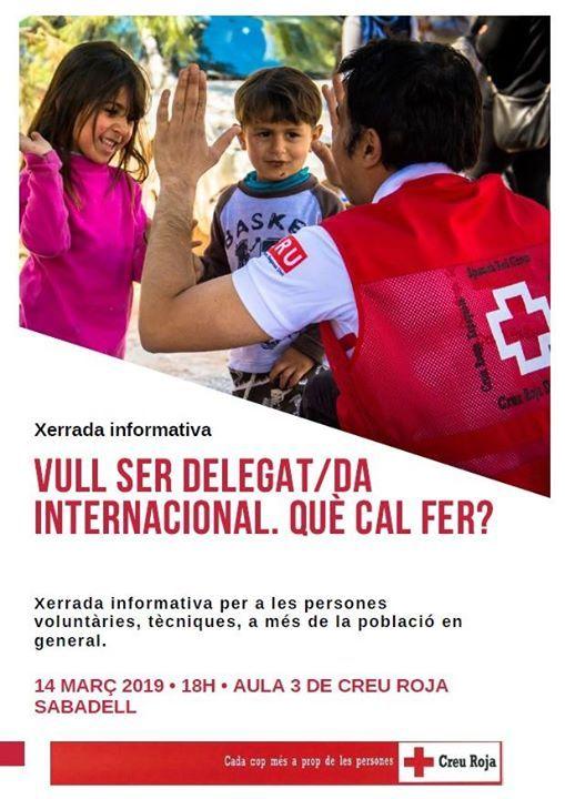 Xerrada informativa delegatda internacional