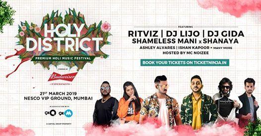 HolyDistrict 2019  Mumbai