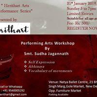 Performing Arts workshop by Sudha Jagannath