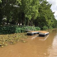 Floating Dock Opening in St. Martinville