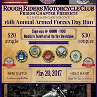 Rough Riders (Prson Chapter) Armed Forces Day Run