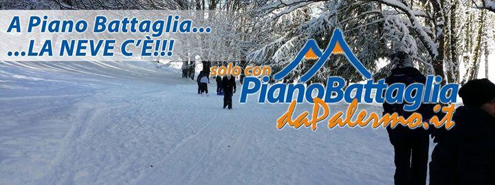 Domenica 22 Gennaio Partenza in bus per Piano Battaglia
