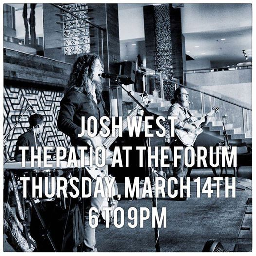 Josh West at The Patio at The Forum