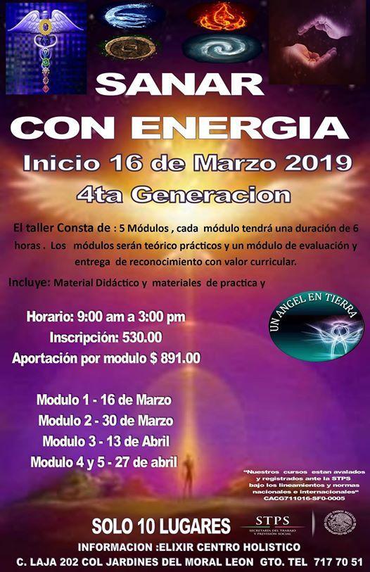 Sanar Con Energia 4ta Generacion At Un Angel En Tierrra
