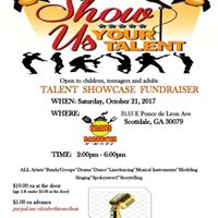 Talent Showcase Fundraiser -