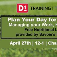 Lunch and Learn - Sponsored by D1 Sports Training Shreveport