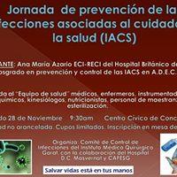 Jornada de infecciones asociadas al cuidado de la salud