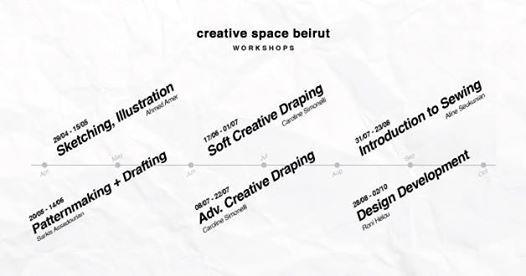 Creative Space Beirut Workshops