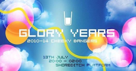 Glory Years 2010-14 Cheeky Bangers