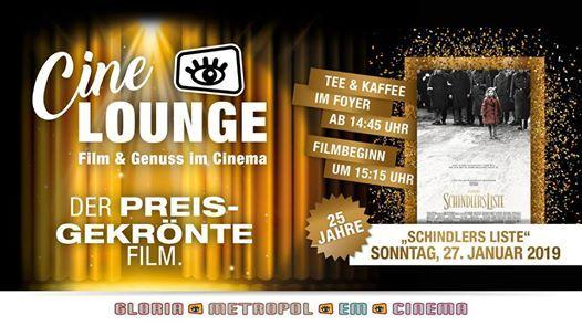 CineLounge Extra 25 Jahre Schindlers Liste
