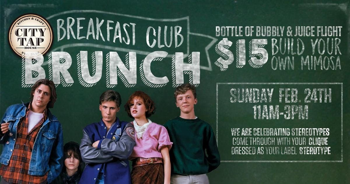 The Breakfast Club Brunch at City Tap Dupont