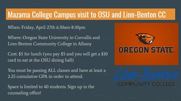 Linn Benton Community College Campus Map.College Campus Visit Oregon State And Linn Benton Cc At 3009