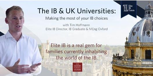 The IB & UK Universities  Making the Most of Your Choices Antwerp
