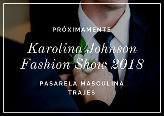 Karolina Johnson Fashion Show 2018