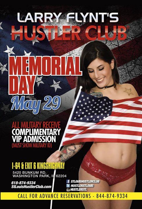 Memorial Day At Larry Flynts Hustler Club StLouis East Saint Louis