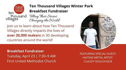 Fundraising Breakfast Telling Their Stories Changing the World