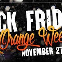 Black Friday &amp Orange Weekend