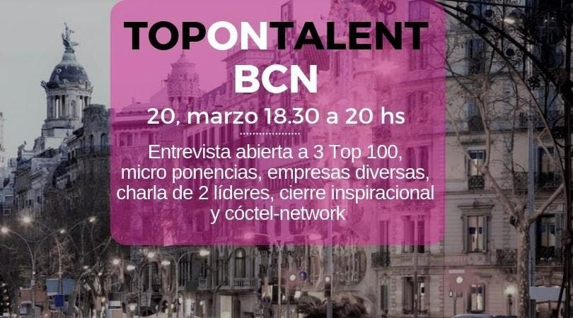 TOP ON TALENT BCN