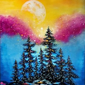Moonrise Sparkle With Paint Nite At Essex Resort And Spa70 Essex Way