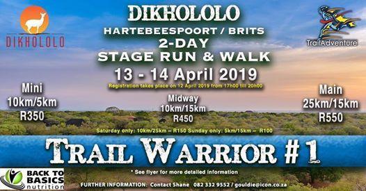 Dikhololo Trail Run and Walk